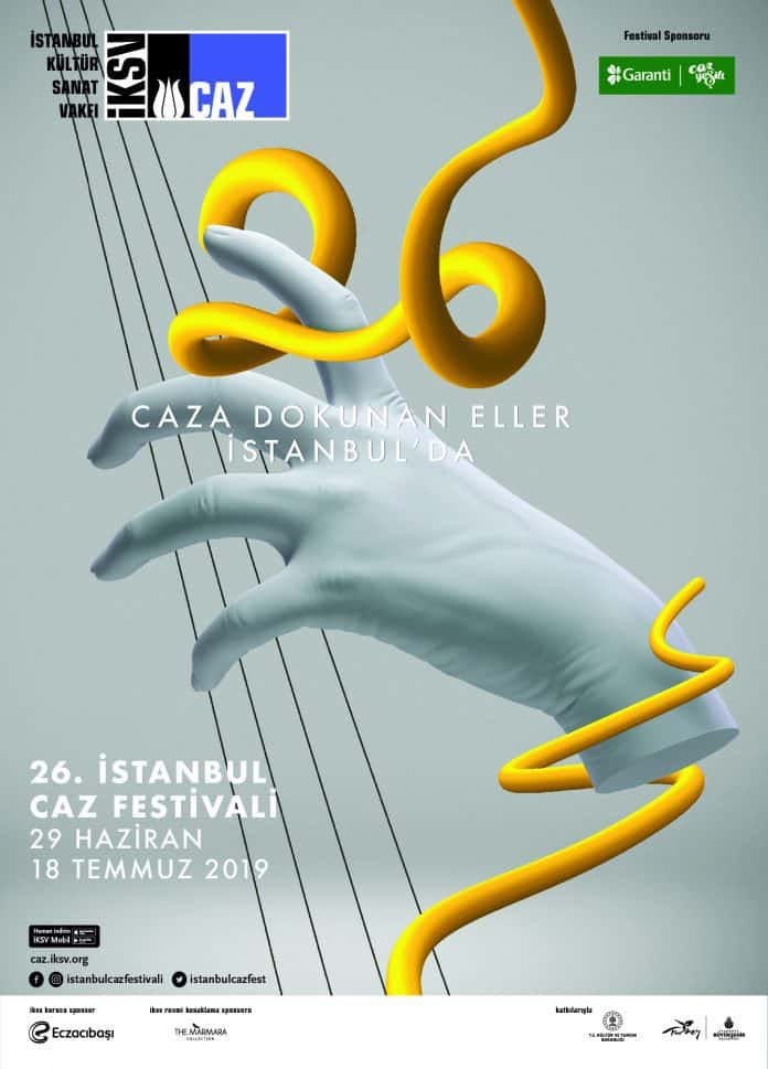 26th İstanbul Jazz Festival Poster