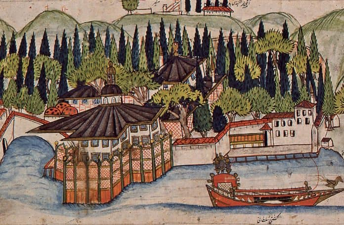 Palace of Aynalıkavak Miniature