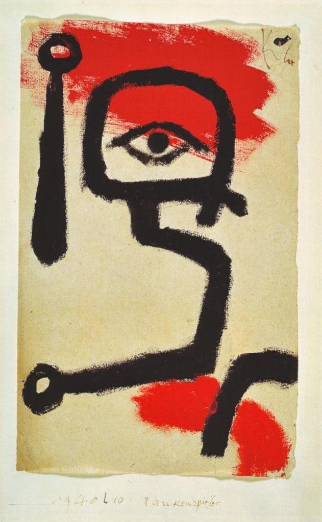 Paul Klee kettle drummer
