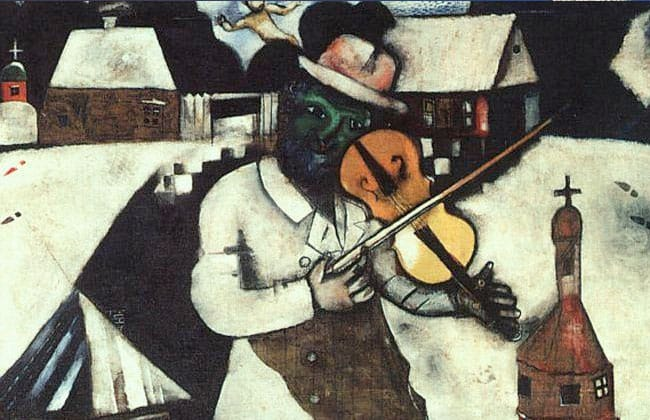 Marc Chagall / The Fiddler