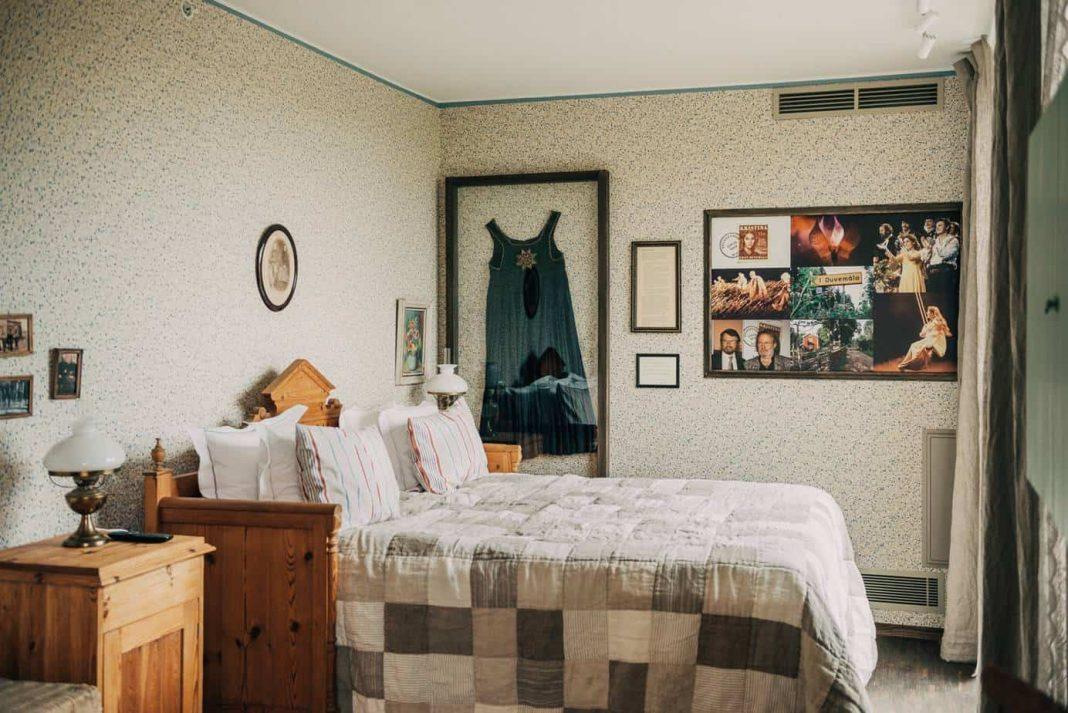 ABBA memorabilia adorns the guest rooms at Pop House. Photo: Johanna Åkerberg Kassel
