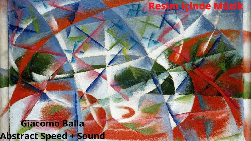 Abstract speed + Sound