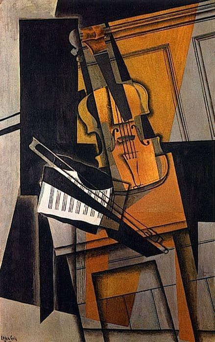 Juan Gris - The Violin