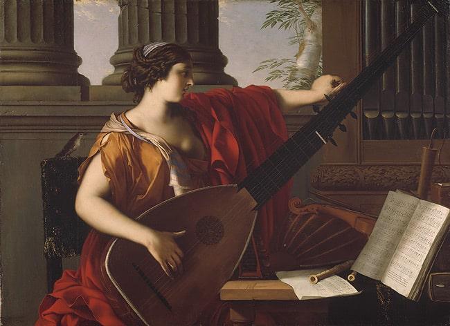 Laurent de la Hyre, müziğin alegorisi