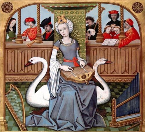 Allegory of Music / Müziğin Alegorisi (1496-1498) - Robinet Testard